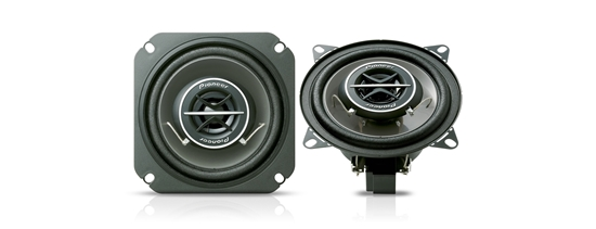 """Picture of PIONEER TS-1002i - 4"""" 10cm 2-Way Co-axial Custom Fit Speaker 240W Total Power"""