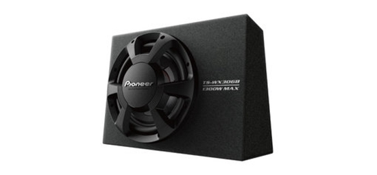 """Picture of PIONEER TS-WX306B 12"""" 1300W Slim Pre-Loaded Subwoofer Enclosure"""