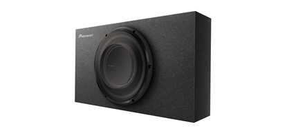 """Picture of PIONEER TS-D10LB 10"""" D Series Shallow-Mount Subwoofer System"""