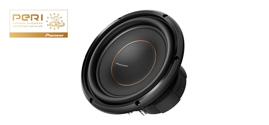 """Picture of PIONEER TS-D10D4 - 10"""" 25 cm Dual 4Ω Enclosure-Type D-Series Component Subwoofer"""