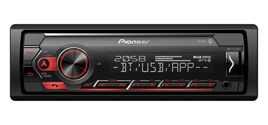 Picture of PIONEER MVH-S420BT Mechless Player With Bluetooth, USB And Spotify For Apple Devices
