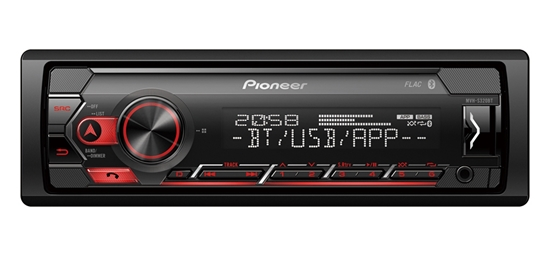 Picture of PIONEER MVH-S320BT Mechless MP3 Car Stereo With Bluetooth USB Aux-In Android Spotify