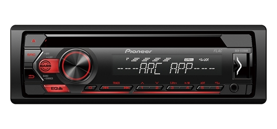 Picture of PIONEER DEH-S120UB Car CD MP3 USB AUX In Tuner Red Illumination