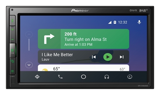 Picture of PIONEER SPH-EVO62DAB-CLIO DAB+ Radio Apple Car Play, Adroid, Bluetooth Stereo For Renault Clio IV