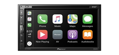 """Picture of PIONEER AVH-Z5200DAB 6.8"""" AV Player With USB, Apple CarPlay Android Auto DAB Stereo"""