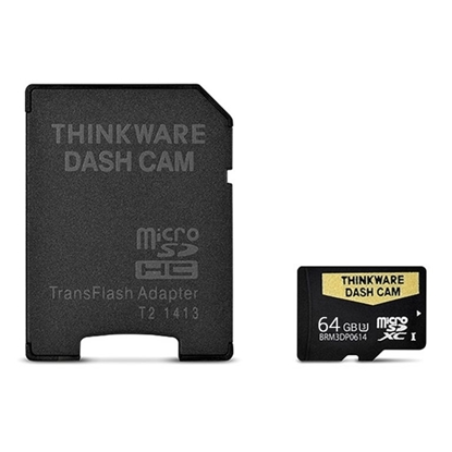 Picture of Thinkware 64GB micro SD with adaptor